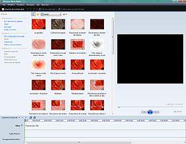 Windows Movie Maker 3.0 in esecuzione su Windows Vista