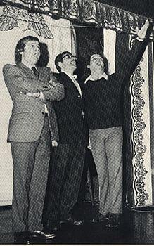 Cochi e Renato con Enzo Jannacci