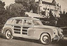 Lancia Aurelia Viotti Giardinetta del 1951