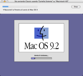 Screenshot di Classic (Mac OS X)