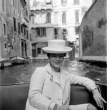 Romy Schneider a Venezia nel 1957
