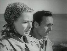 Ingrid Bergman e Mario Vitale in Stromboli terra di Dio (1950)