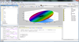 Screenshot di MATLAB