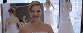 Katherine Heigl in una scena del film.