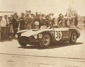 Juan Manuel Fangio e la sua D24