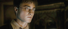 Harry Potter (Daniel Radcliffe) nel sesto film