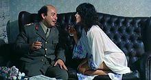 Nadia Cassini ne La dottoressa ci sta col colonnello (1980)