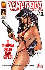 Vampirella disegnata da Louis Small Jr.