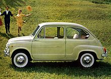 La Fiat 600, un simbolo del boom economico.