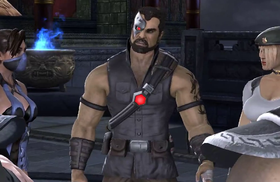 Kano in Mortal Kombat vs DC Universe