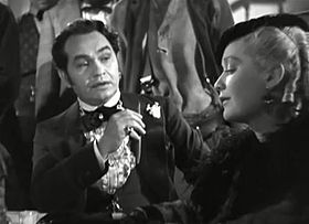 Edward G. Robinson e Miriam Hopkins