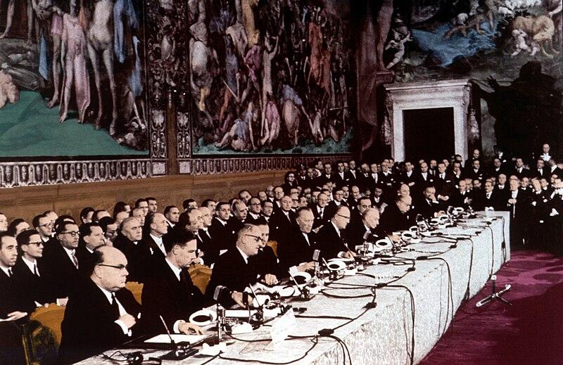 File:Firma dei trattati di Roma (1957).jpg