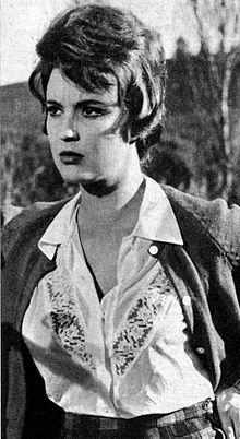 Ilaria Occhini nella commedia televisiva RAI Il guardiano 1963