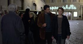 Nanni Moretti e Margherita Buy in una scena del film.