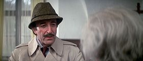 Peter Sellers nei panni dell'ispettore Clouseau