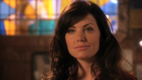 Erica Durance interpreta Lois Lane in Smallville