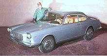 La Flavia Coupé di Pininfarina del 1964