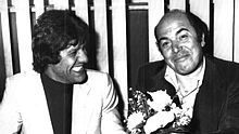 Lino Banfi con Franco Franchi nel 1977