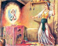 Antica rappresentazione del miracolo eucaristico di Trani.