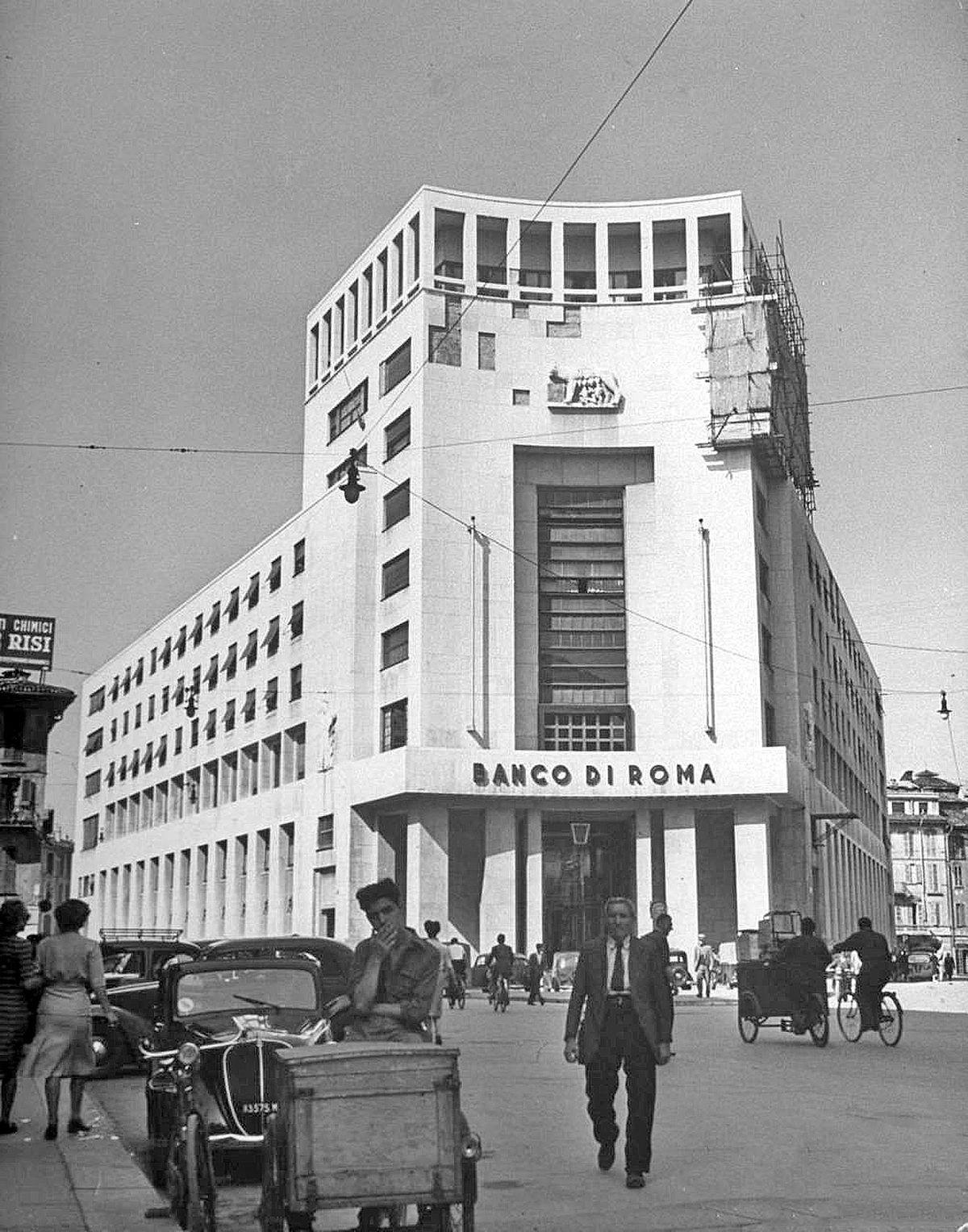 Palazzo del banco di roma wikipedia - Architetto palazzo congressi roma ...