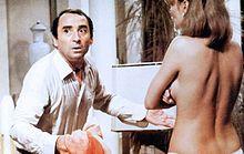 Claude Brasseur e Janet Agren in Aragosta a colazione (1979)