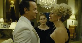 Tom Hanks, Julia Roberts e Amy Adams in una scena del film