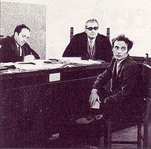 Pietro Valpreda durante una audiencia por la masacre de Piazza Fontana