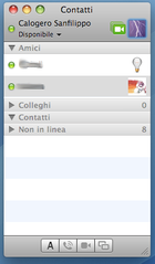iChat sotto Mac OS X 10.5