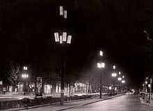 Storia dell illuminazione pubblica a torino wikipedia