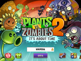 Plants vs zombies it s about time wikipedia