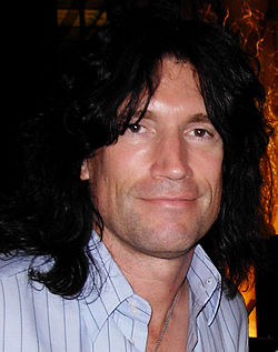 Tommy Thayer a Milano nel 2008