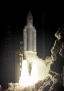 Ariane 5: lancio della sonda Rosetta. (Foto: ESA, CNES, Arianespace)