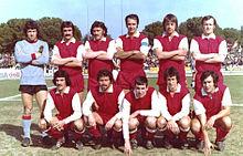 Il Grosseto 1973-1974.
