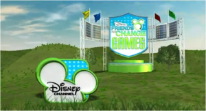 Logo del programma Disney's Friends for Change Games