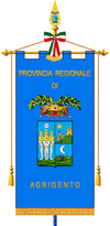 Provincia di Agrigento-Gonfalone.png