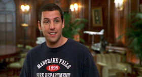 Adam Sandler in una scena del film