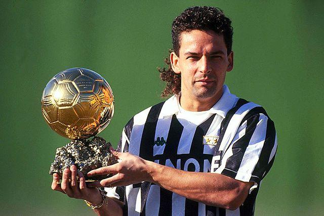 Roberto Baggio pallone d'oro