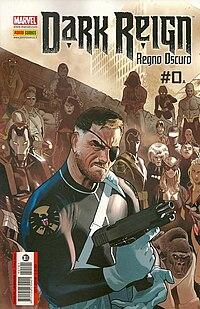 Nick Fury, disegnato da Daniel Acuña