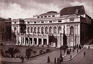 Il Palazzo dell'Opera nel 1940