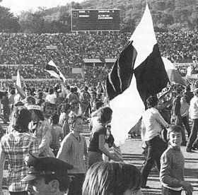 Celebrazioni per il quindicesimo scudetto nella stagione 1972/73.