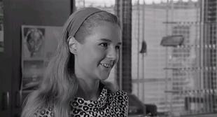 Loretta Goggi quindicenne all'esordio cinematografico in Io la conoscevo bene (1965) di Antonio Pietrangeli