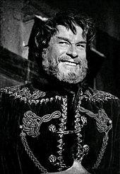 In una scena dello sceneggiato La figlia del capitano di Leonardo Cortese (1965)