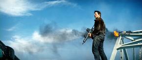 Ethan Hunt durante la fuga di Davian