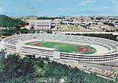 Lo stadio Olimpico a fine anni 1950