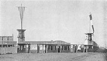 L'ingresso del Campo Juventus, impianto interno dal 1922 al 1933 nonché di proprietà del club