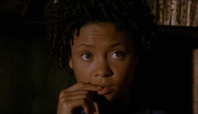 Thandie Newton in una scena del film.