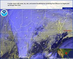 Immagine del NOAA