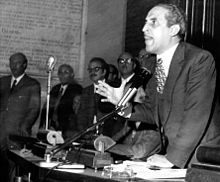 Ciancimino durante una seduta del consiglio comunale di Palermo