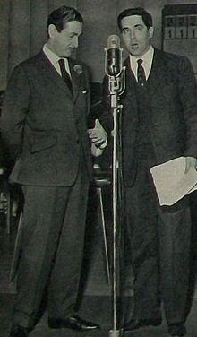 Corrado con Don Jaime de Mora y Aragón nel 1960