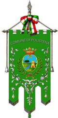 Gonfalone del comune di Polistena.